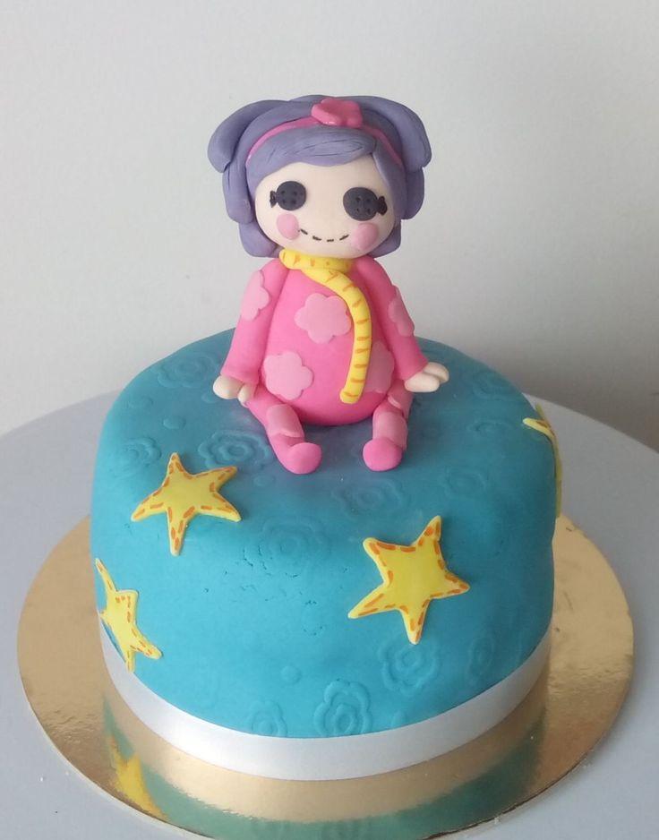 Torta Lala Loopsy decorada