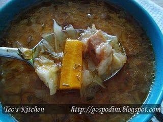 Lușcoș (ciorbă de varză) - Retete culinare by Teo's Kitchen