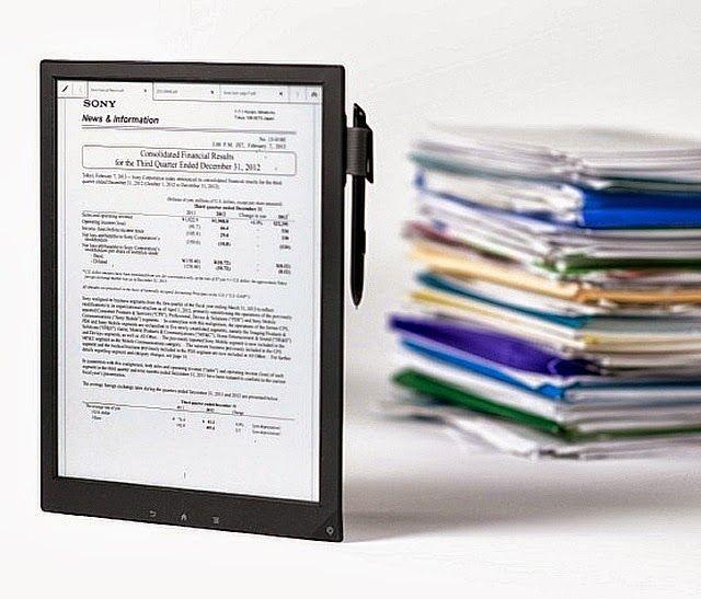 negruslucian.blogspot.com: Sony a lansat Digital Paper, o tabletă atipică cu ...