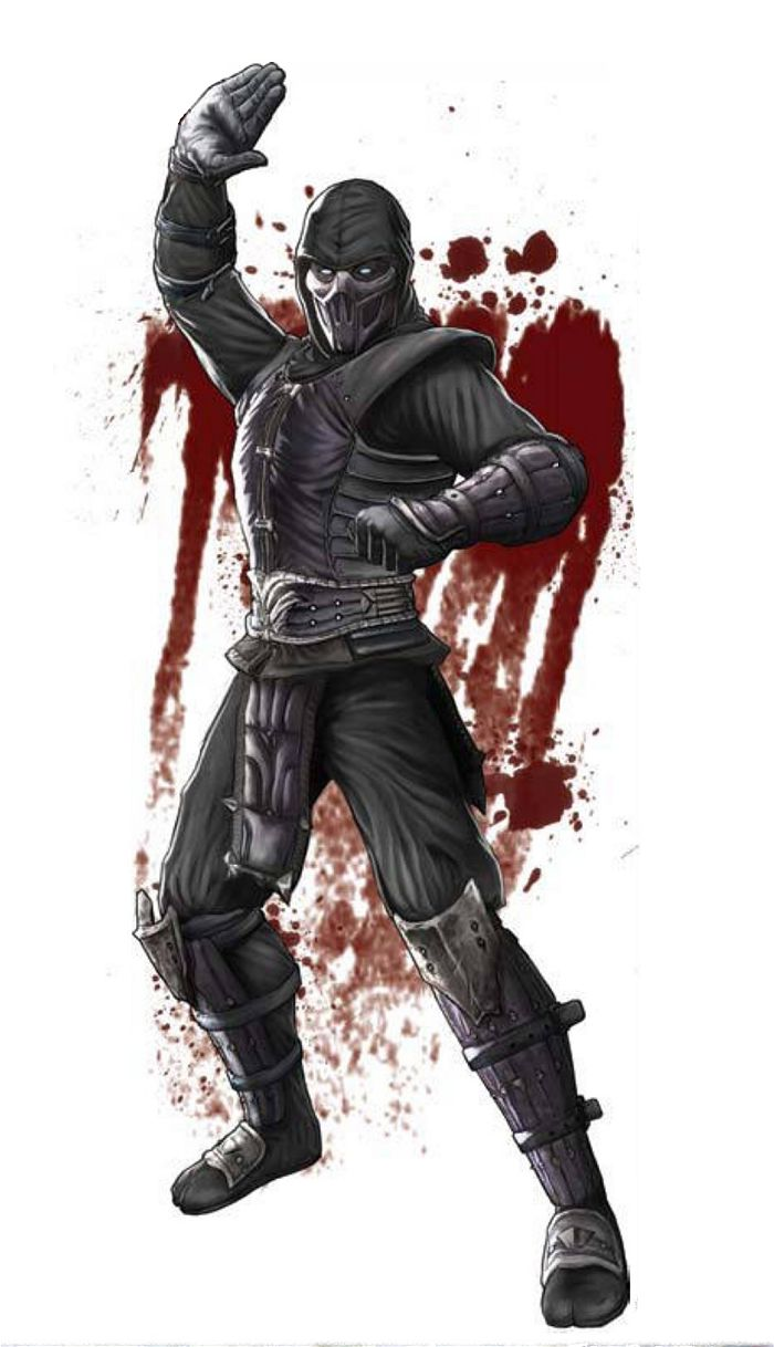 Noob Saibot: his backstory was not established until 2004's Mortal Kombat: Deception. In Deception his true identity is revealed as the original Sub-Zero who had been killed by his nemesis, Scorpion during the events of the first Mortal Kombat. Here it was revealed that Noob Saibot was the resurrected form of the original Sub-Zero, named Bi-Han (Chinese pinyin: Bìhán) who appeared in the first Mortal Kombat tournament and was killed by his enemy Scorpion.