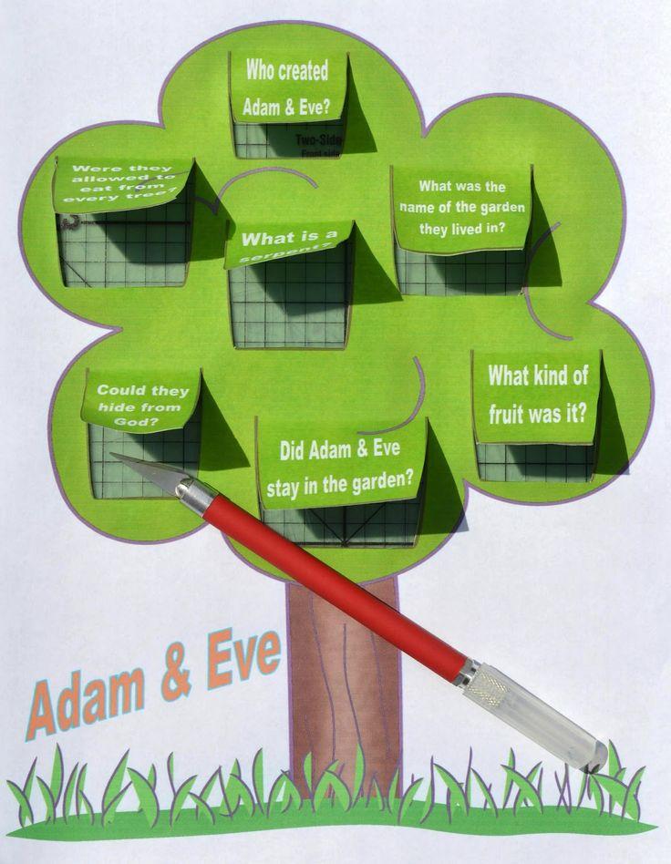 Genesis Series: Adam & Eve | Bible crafts for children ...