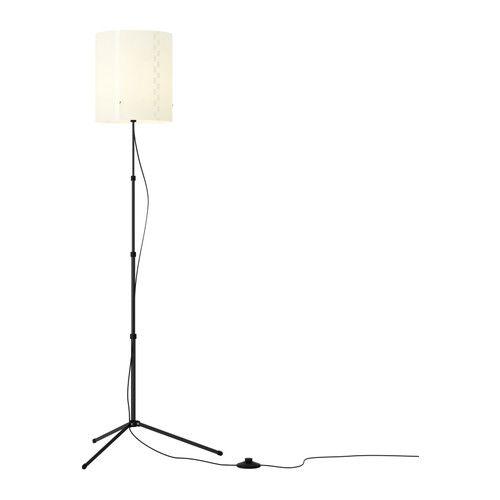 TROGSTA Floor lamp IKEA Height adjustable and adapt to your lighting needs.  Provides soft lighting.