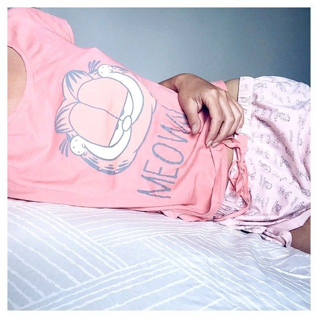 Garfield pyjama by @ivanakorda #womensecret