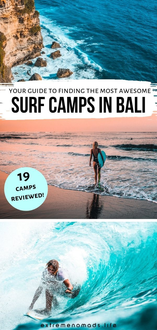 Our Review Of 19 Epic Surf Camps In Bali For 2019 Essential Bali Surf Tips Bali Surf Camp Bali Surf Surf Trip