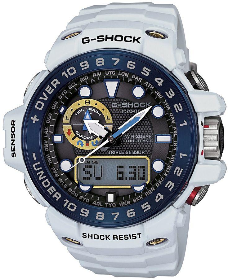 Zegarek męski Casio G-Shock Gulfmaster GWN-1000E-8A - sklep internetowy www.zegarek.net