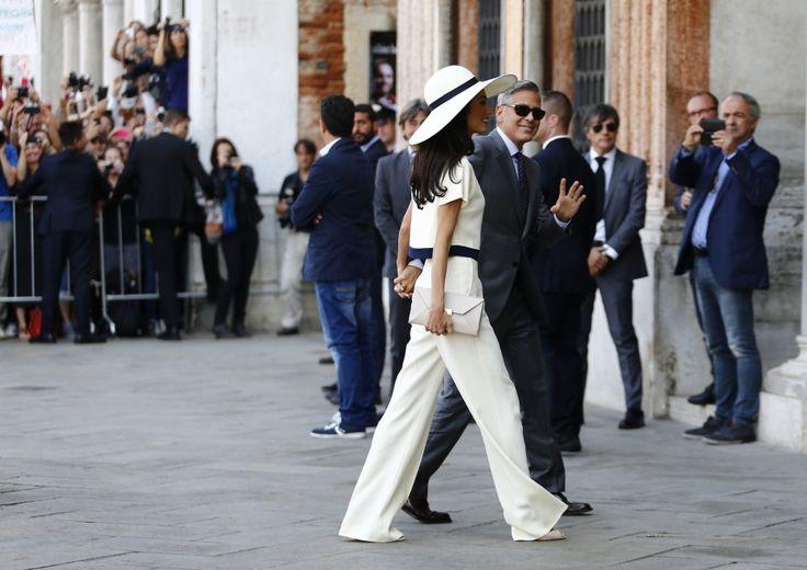 Ore 13.30: il s� di George e Amal � ufficiale - Spettacoli - Repubblica.it