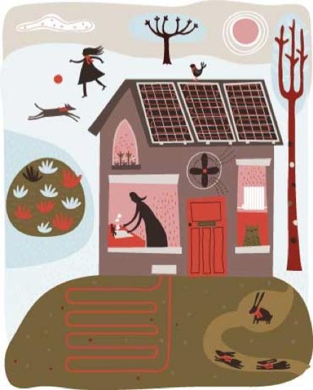 Melvyn Evans illustration