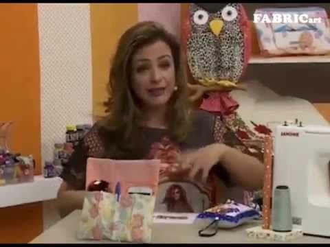 Passo a passo - Organizador  de Carro - Artesã Gi Flores