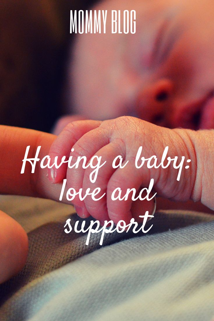 Preemie baby how to support