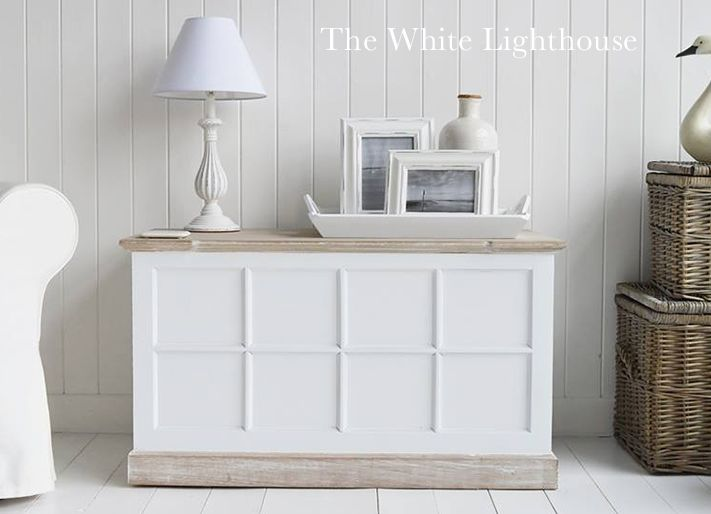 Vermont Large Storage Trunk From The White Lighthouse Furniture
