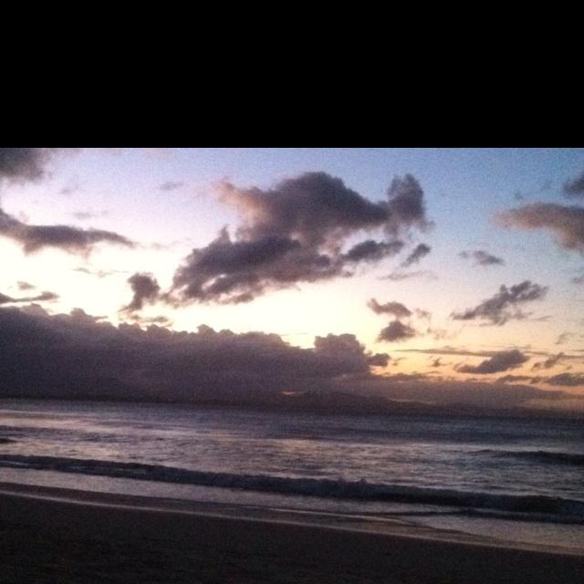 Sunset Byron Bay 12 April 2012
