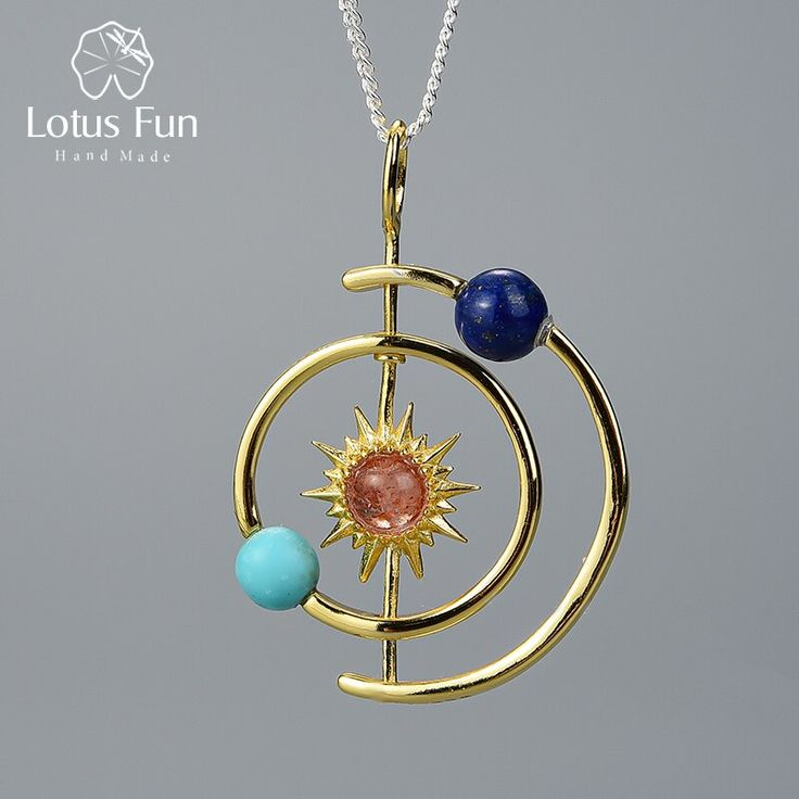 Details about  /925 Sterling Silver Handmade Fine Jewelry Blooming Flower Pendant Necklace
