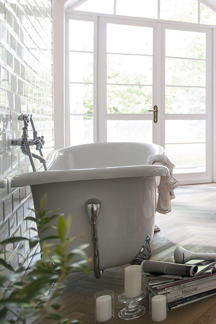 die besten 25+ badewanne mit löwenfüßen badezimmer ideen auf, Badezimmer ideen