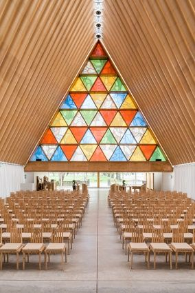 Cardboard Cathedral By Shigeru Ban Architects Christchurch New Zealand 2013 Best Interior DesignInterior Design MagazineReligious