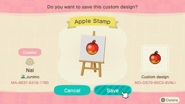 Designs For Acnh Acnhcustomdesigns Fruit And Bell Tree Markers Animal Crossing Animal Crossing Game Qr Codes Animal Crossing