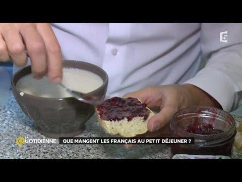Que mangent les français au petit déjeuner ? - YouTube