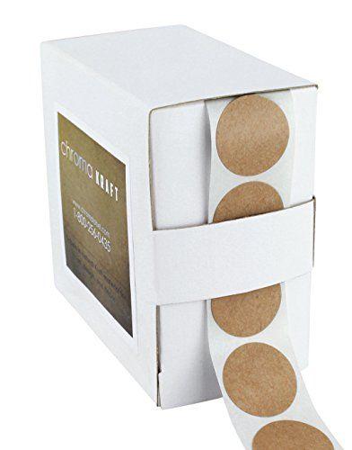 "1"" Brown Kraft Paper Dot Labels   1,000 Round Stickers pe... https://www.amazon.com/dp/B014RSDF3E/ref=cm_sw_r_pi_dp_x_p8a2ybH0RWM2X"