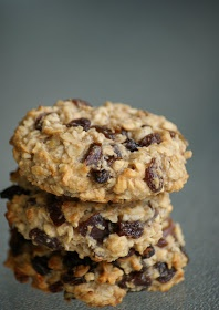 No sugar, butter or  eggs. Just rolled oats, coconut flakes, dried fruit & mixed nuts.