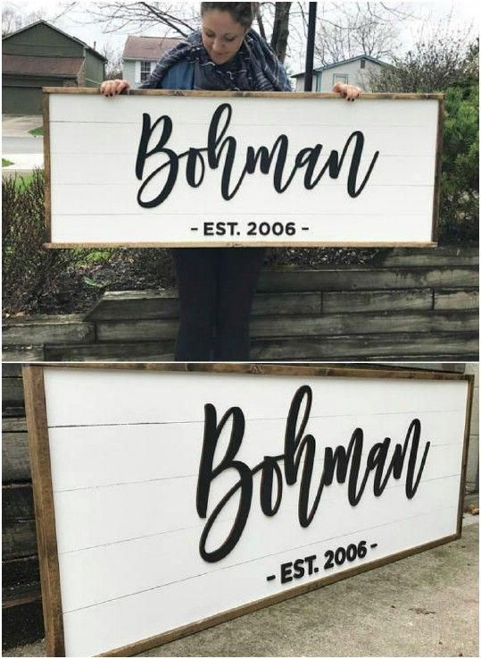 personalized shiplap family house sign homedecordiy home decor in rh pinterest com