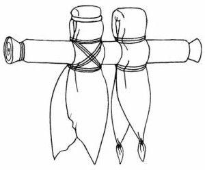 Nierozłączki - Tradycyjne Białoruskie Lalaki Ślubne.  Lalki te symbolicznie przedstawiają małżeńskie połączenie się kobiety i mężczyzny. Są to dwie lalki, które są nierozerwalnie połączone jednym, wspólnym ramieniem. Darowane najczęściej parom młodych podczas zaślubin.