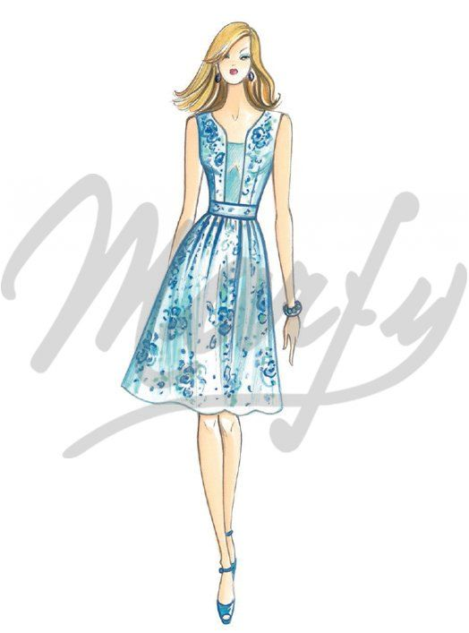 The Marfy hand made pre-cut sewing pattern :: Marfy Collection 2016/2017 :: Sewing pattern 3931 -