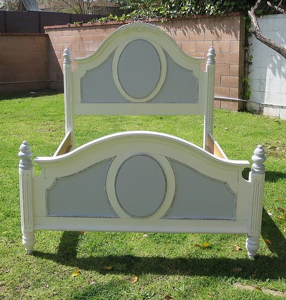 shabby chic french provincial bed frame queen size in westchester los angeles ca - Bed Frames Los Angeles