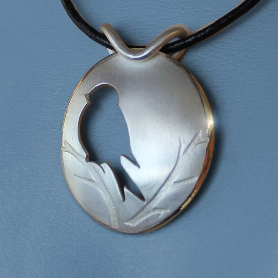 Silver Jewelry Silver Pendant Silver by AngelaWrightDesigns                                                                                                                                                                                 Más