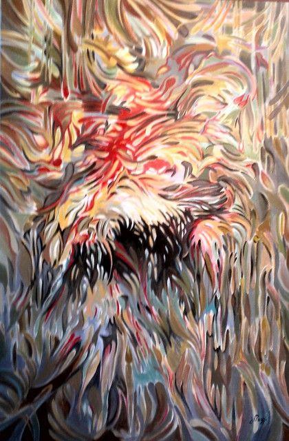 FIRE, 2014 by Jan Pozzi - Acrylic Painting
