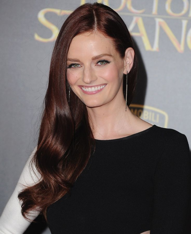 Get the Look: Lydia Hearst's Rich Red