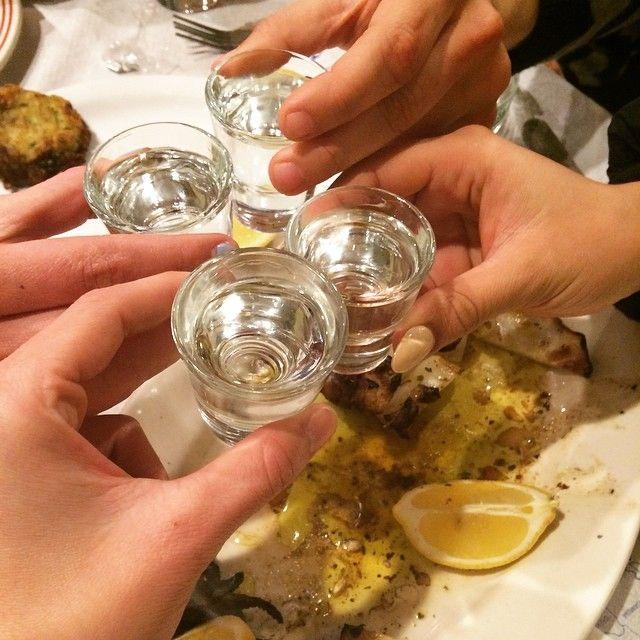"""Raki is the traditional drink of #Crete! """"Stin Ygeia sas!"""""""