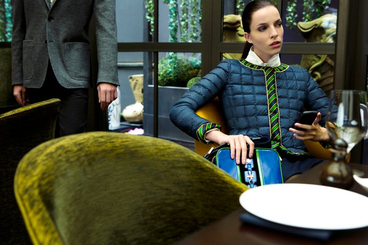 Fay City Diaries features the Women's Fall - Winter 2013/14 collection with the seductive backdrop of Berlin. Down Jacket. http://www.fay.com/it/city-diaries/berlino?country=it