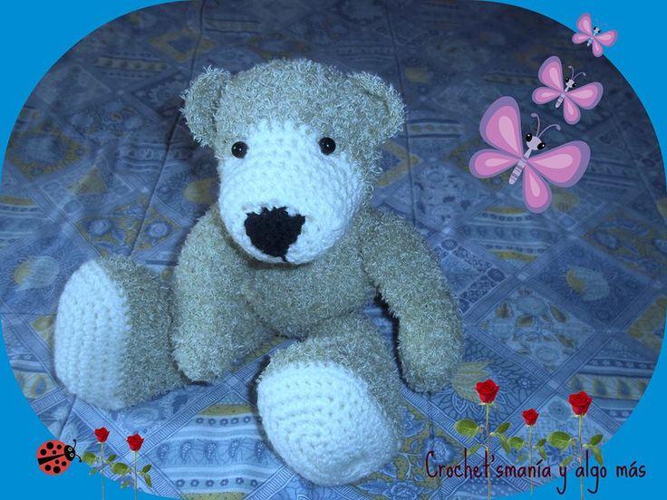oso teddy peludito