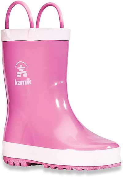 Kamik Kid's 6.75 Inch Spritz Collection Squirt 2 Boot Style: EK6355