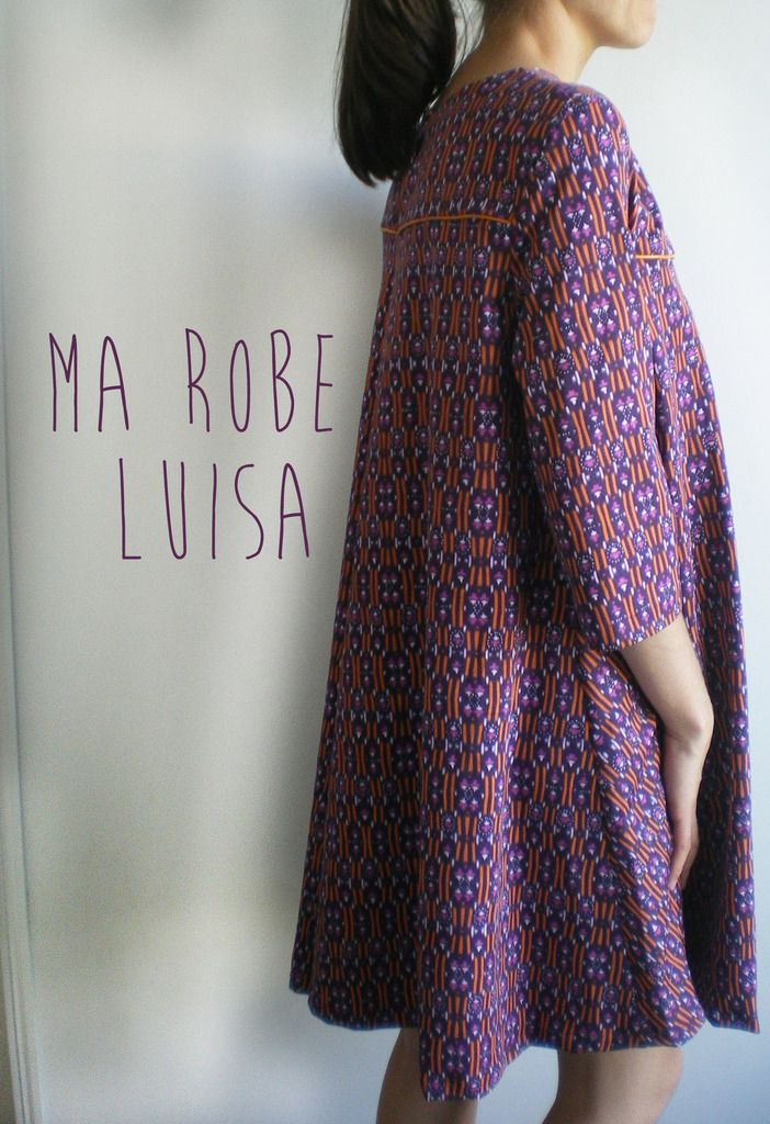 Ma version de la robe Luisa de Makemylemonade