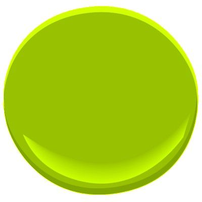 lime green 2026-10 Paint - Benjamin Moore lime green Paint Color Details