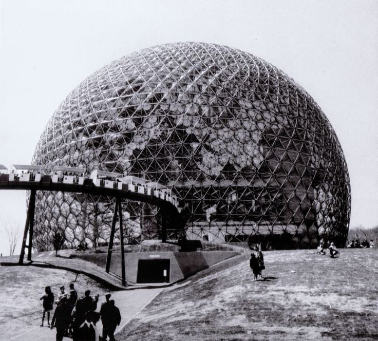 Buckminster Fuller_U.S. Pavillon at the Expo 67_1967_Montreal