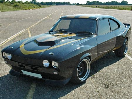 Ford Capri Muscle Car - Built for Show: Bangla Bangers. Visually beautiful, but the build was shocking quality