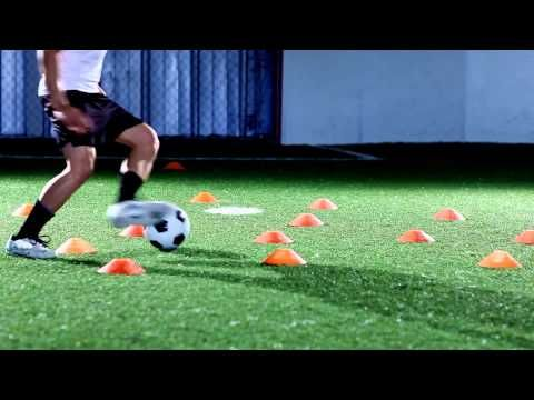 4 Soccer Drills for Dribbling and Shooting - SoccerDrillsDaily - YouTube