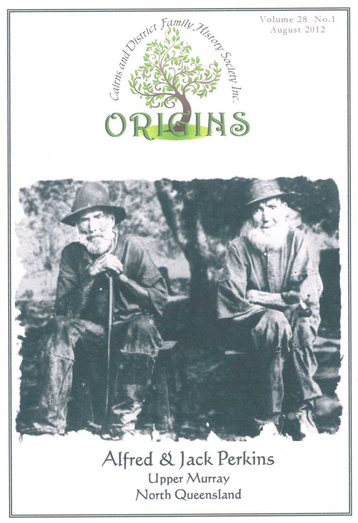 Journal of Cairns & District Family History Society
