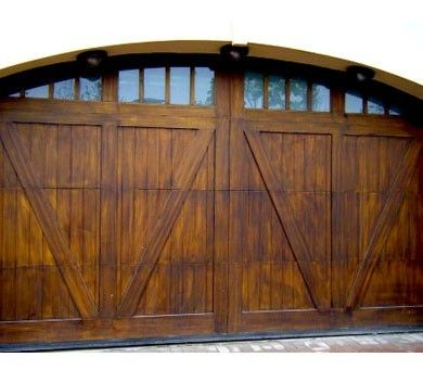Dallas   Carriage Barn Solid with V Grooved Panel and windows is one of the  best and high quality wood garage door series  The custom garage door  design is. 73 best Garage Doors images on Pinterest   Garage doors  Carriage