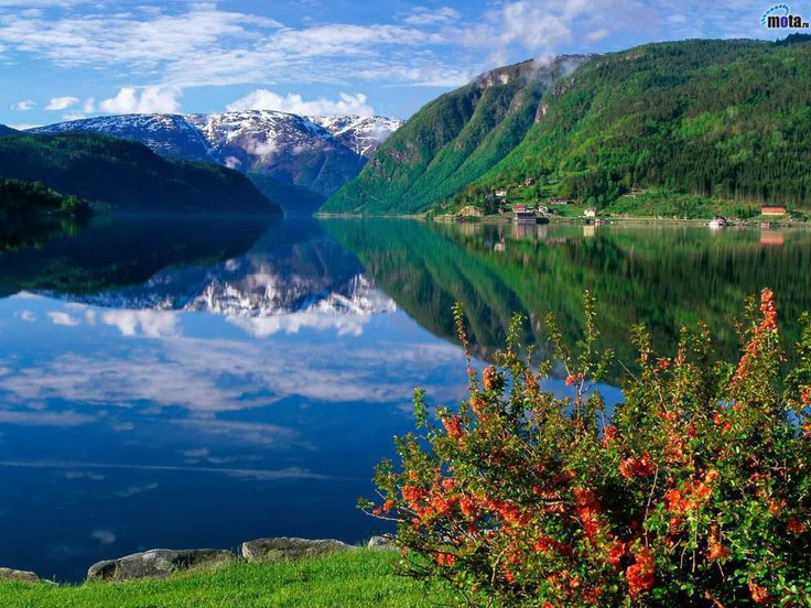Fjords of Norway.
