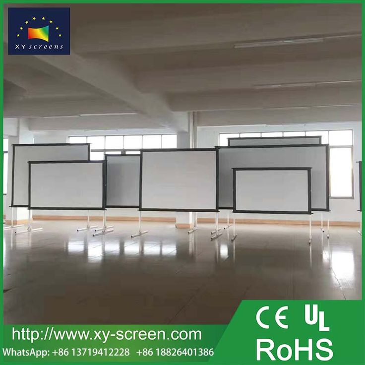XYSCREEN high quality hot sales 120 inch 4:3 outdoor portable fast fold projector screen