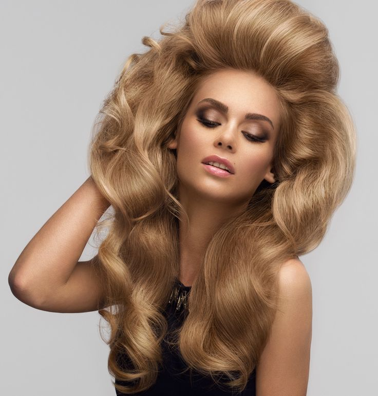 Big Hairstyles 238 Best Big Hair Styles Images On Pinterest  Big Hair Long Hair