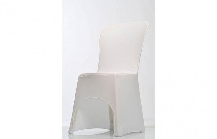 housse-de-chaise-lycra blanche