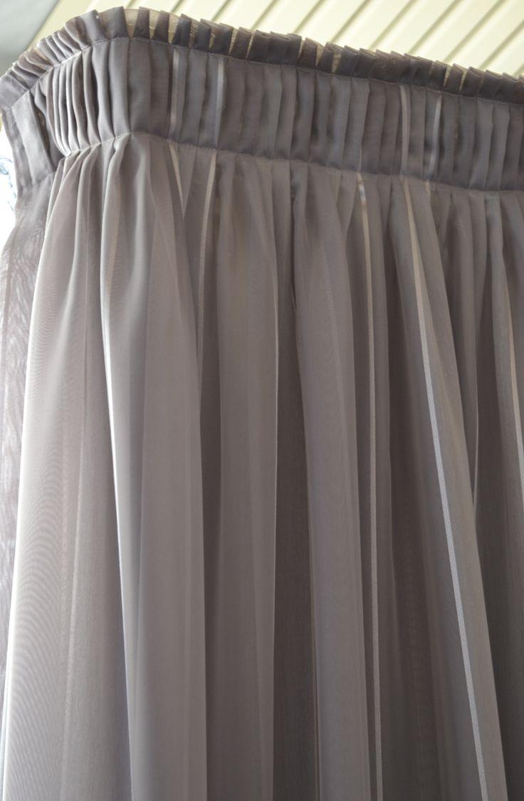 Knife Pleat Sheer Curtain Curtain Heading Types
