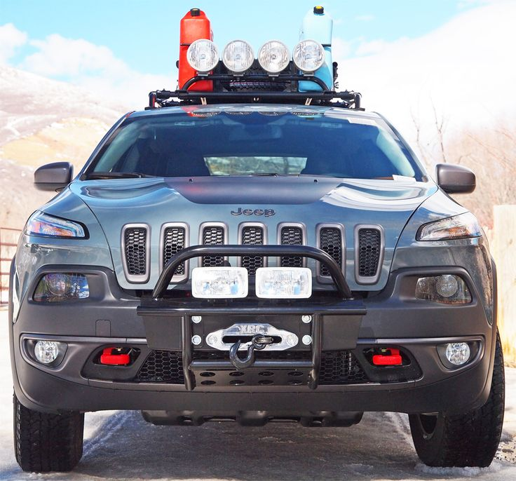 Jeep Cherokee Winch bumper kit