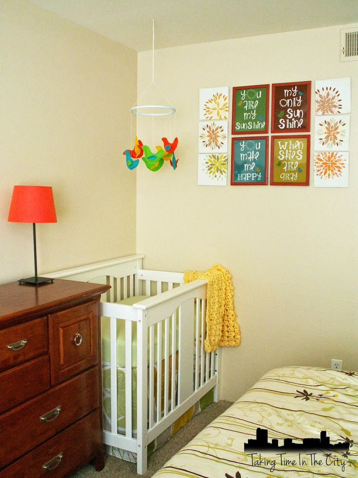 Baby Bedroom Decorating Ideas: 50 Best Shared Master Bedroom And Nursery Images On