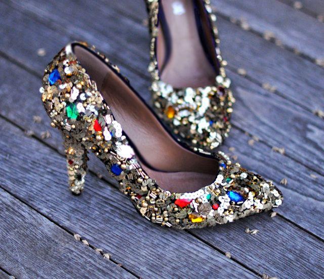 Dolce Gabbana Embellished Shoes Makeover