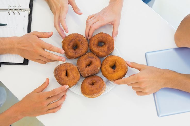 How to Walk By Free Donuts in the Break Room
