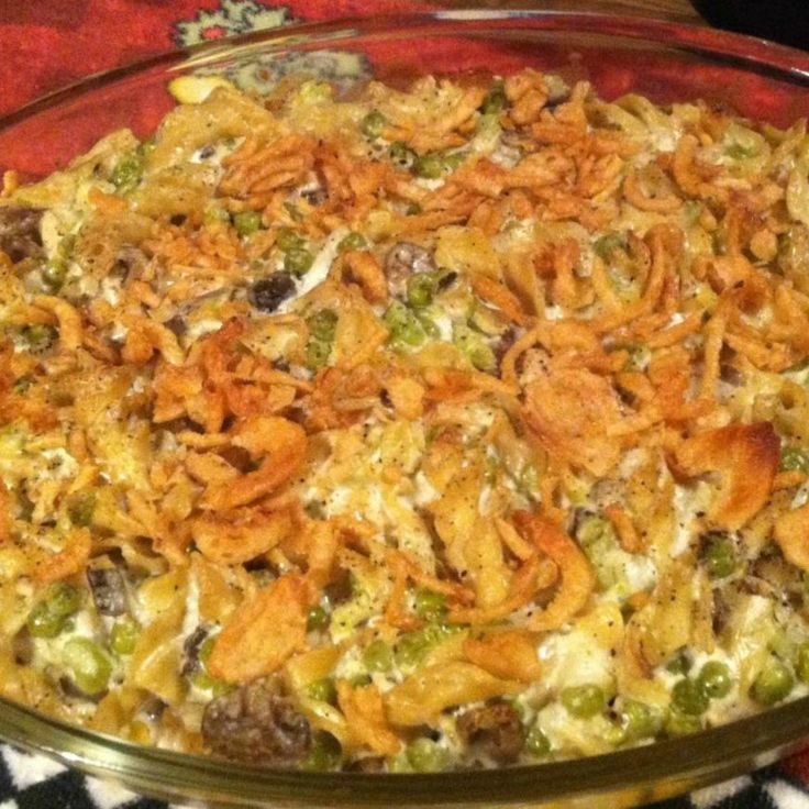 tuna casserole recipes with cream of mushroom | Tuna Noodle Casserole ...